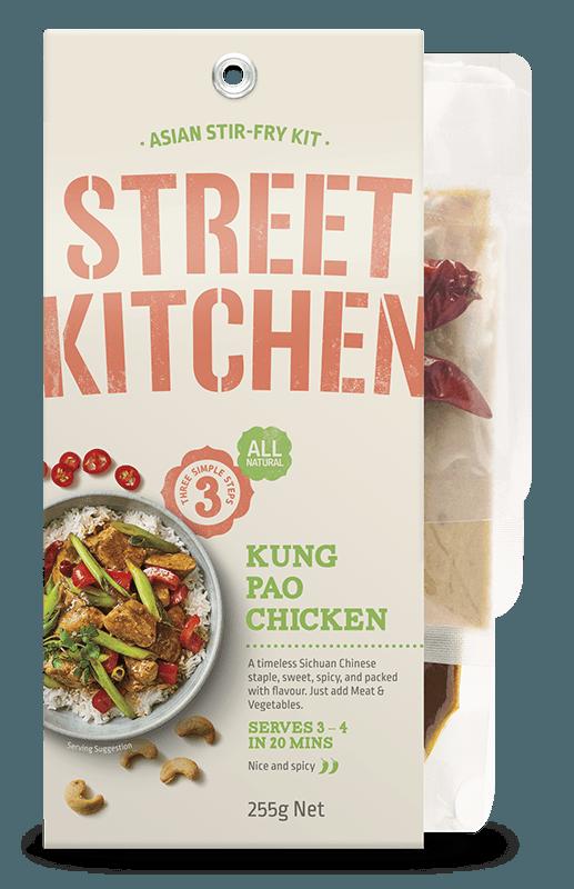 Kung Pao Chicken Street Kitchen